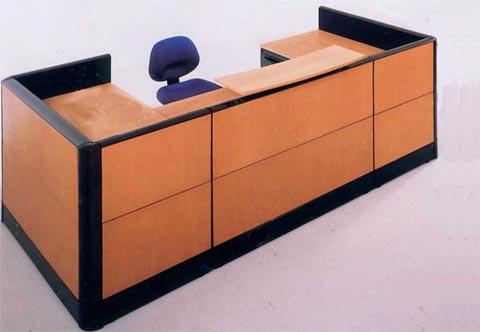 Mobiliario matuk recepciones for Mobiliario de oficina recepcion
